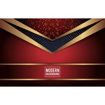豪華金色和紅色背景 , 背景, 設計, 紅色 背景圖片