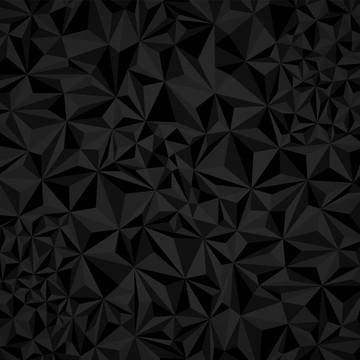 多邊形三角黑色和白色背景 , 3d, 抽象, 藝術的 背景圖片