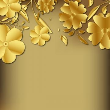 3 डी गोल्डन फूल सजावटी पृष्ठभूमि , पृष्ठभूमि, फूल, सार पृष्ठभूमि पृष्ठभूमि छवि