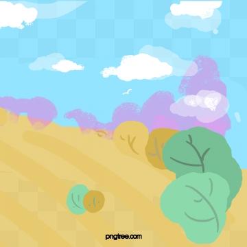 शरद ऋतु के पौधे जंगल की प्रकृति , शरद ऋतु, संयंत्र, जंगल पृष्ठभूमि छवि