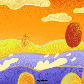 cây mùa thu hoang dã , Mùa Thu., Vùng Hoang Dã, Hoạ Tiết Ảnh nền