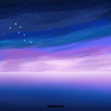 langit biru violet sky sky starry , Biru Ungu, Gradien, Langit Malam imej latar belakang