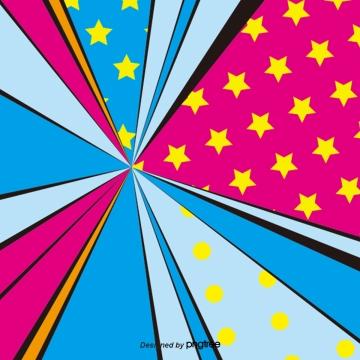 रंग लाइन पांच पॉइंट स्टार ई कॉमर्स प्रचार , रंग, लाइनों, पेंटाग्राम पृष्ठभूमि छवि