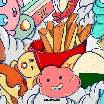 हेलोवीन डरावना भूत कठपुतली खाद्य उत्सव , हेलोवीन, हॉरर, भूत पृष्ठभूमि छवि
