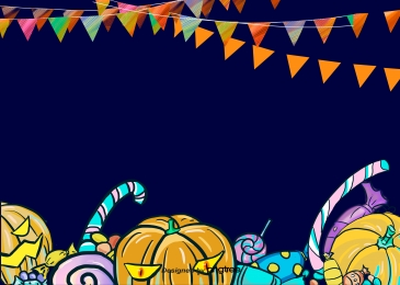 halloween labu candy cane flag, Halloween, Labu, Gula-gula imej latar belakang