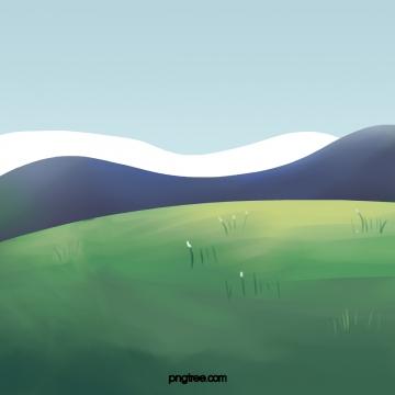 लॉन और पहाड़ , लॉन, ग्रीन, ग्रीन पृष्ठभूमि छवि