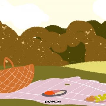 आउटडोर पिकनिक कैंपिंग फूड नेचर , Outdoor, पिकनिक, डेरा डाले हुए पृष्ठभूमि छवि