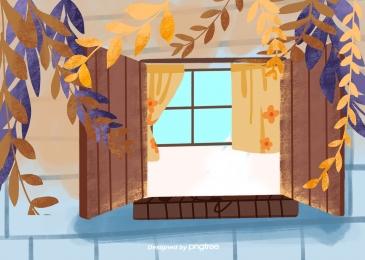 पौधे के पत्ते  खिड़की  परदा, संयंत्र, पत्ते, Windows पृष्ठभूमि छवि