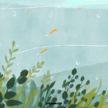 पानी के नीचे दुनिया समुद्री शैवाल पौधों तैराकी मछली , पानी के नीचे दुनिया, समुद्री घास, संयंत्र पृष्ठभूमि छवि