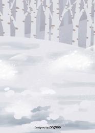 冬季樹木冰天雪地 , Winter, 樹木, 冰天雪地 背景圖片