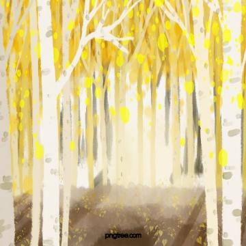 枯萎的黃葉 秋天 , 枯萎和黃色, 葉, 樹 背景圖片
