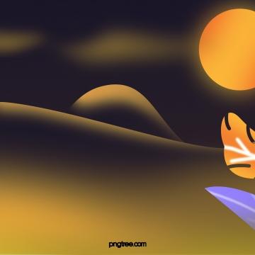 पीला जंगल जंगल रात आकाश चंद्रमा संयंत्र , पीले, क्षेत्र, जंगल पृष्ठभूमि छवि
