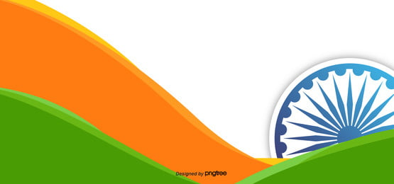 colorful geometric indian independence day background, , Indian Independence Day Background image