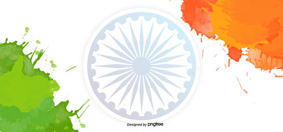 ink effect indian independence day creative background, , Indian Independence Day Background image