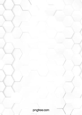 simple hexagonal honeycomb white paper cut wind business background , Arrangement, Background, Business Affairs Background image