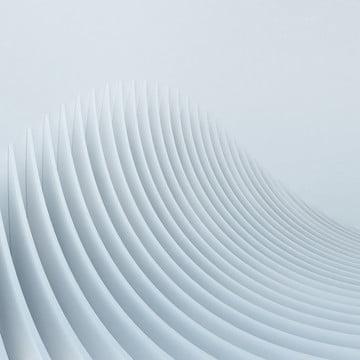 hình dạng cong trừu tượng 3d kiến trúc tròn , Nền, Trắng., Kiến Trúc Ảnh nền