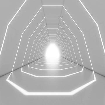 thiết kế nội thất hành lang 3d chiếu sáng kết xuất , Bên Trong., Abstract, Hành Lang Ảnh nền