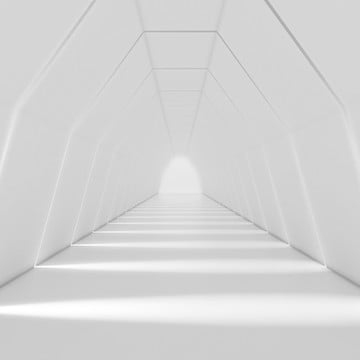 3d long light corridor smooth style rendering , Interior, Abstract, Corridor Background image