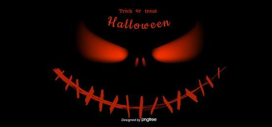 pumpkin little quỷ nền minh họa halloween, Halloween, Bí Ngô, Con Quỷ Nhỏ Ảnh nền