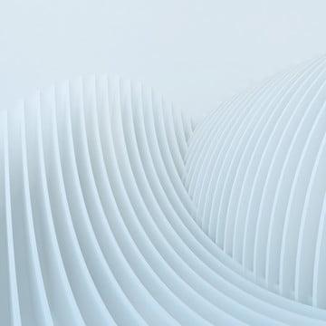 白の3 dの抽象的な建築湾曲波円形 , 背景, 白, 建築 背景画像