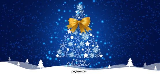 fundo de natal luz azul, Christmas, Snowflake, Azul Imagem de fundo