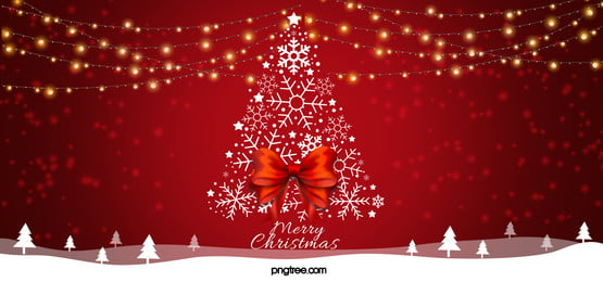 red light christmas background, Christmas, Christmas Background, Snowflake Background image