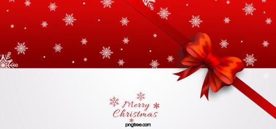 빨간색 최소한의 크리스마스 배경, Christmas, 빨간 크리스마스 배경, 활 크리스마스 배경 배경 이미지