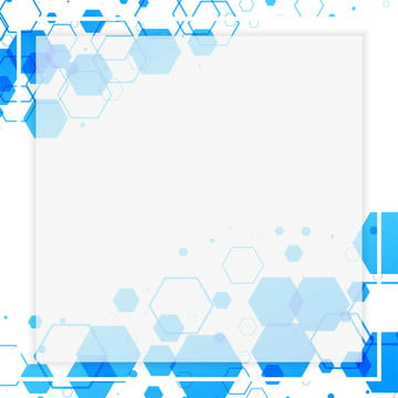 abstract white frame with blue hexagonal shapes , Abstract, Art, Backdrop Background image