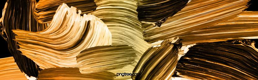 tangan emas hitam dicat latar belakang berus, Hitam, Golden, Tangan Dicat imej latar belakang