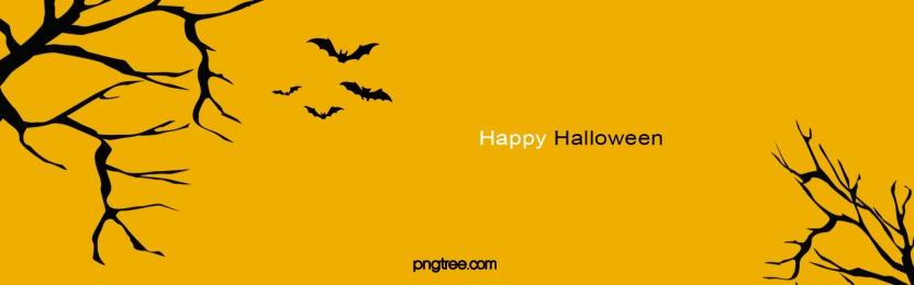 halloween celebration minimalistic background, Bat, Black, Withered Tree Background image