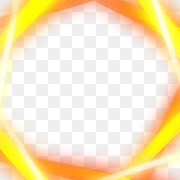 efeito de luz laranja moderno , Laranja, Leve, Frame Imagem de fundo