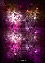 紫色の正方形のモザイクのカラフルな背景 , キラキラの背景, 紫色のフラッシュ光スポット, キラキラ格子縞の背景 背景画像