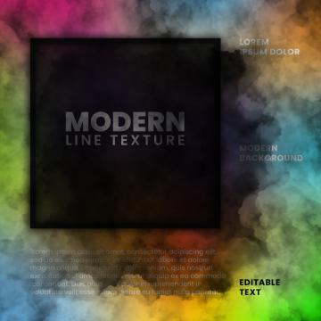 編集可能なテキストテンプレートと虹の煙の効果の背景 , 煙, 効果, 虹 背景画像