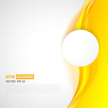 वेक्टर अमूर्त सफेद पीले लहराती उड़ता , लहर, पीले, सर्कल पृष्ठभूमि छवि