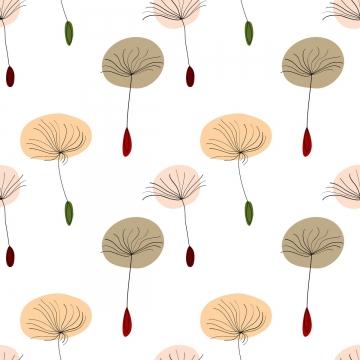hạt bồ công anh trên nền trắng , Taraxacum, Mùa Hè., Hoa Ảnh nền