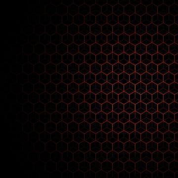 काली पृष्ठभूमि के साथ नारंगी पैटर्न , पृष्ठभूमि, पैटर्न, नारंगी पृष्ठभूमि छवि