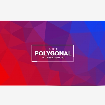 vektor polygonal geometric triangle warna penuh latar belakang , Polygon, Latar Belakang, 3d imej latar belakang
