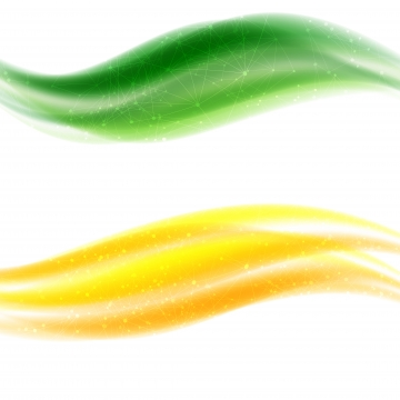abstract yellow green waves isolated on white , Wave, Yellow, Green Background image