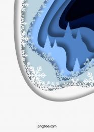 स्टैक्ड पेपर कट स्नोफ्लेक क्रिसमस ट्री क्रिसमस की पृष्ठभूमि , आरोपित, सुवीही, Decoupage पृष्ठभूमि छवि