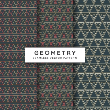 abstract geometric seamless vector pattern , Vector, Vintage, Fashion Background image