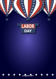 american labor day creative hot air balloon festival background , Usa, National Flag, Labor Day Background image