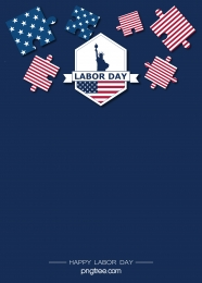 american labor day creative puzzle festival background , Usa, National Flag, Labor Day Background image