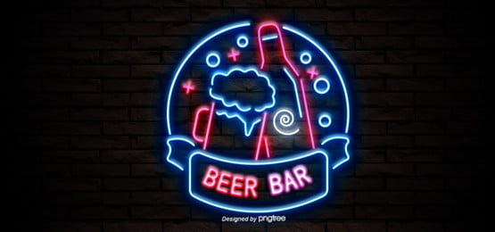 beer bar neon background, Beer, The Wine Bottle, Circle Background image