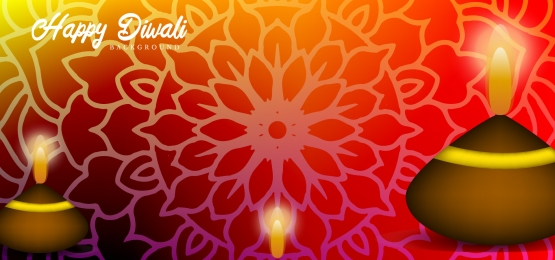 diwali deepavali or dipavali festival of lights india background design with gold color gradient and pattern ornament, Background, Diwali, Gradient Background image
