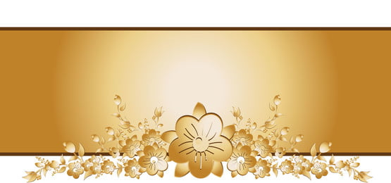 金色背景與花卉元素矢量圖, 背景, 花, 框架 背景圖片