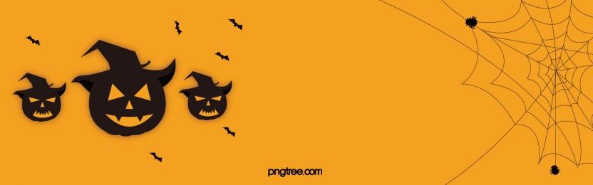 हैलोवीन सरल मकड़ी वेब जैक लालटेन बैट पृष्ठभूमि, हेलोवीन, ब्योरा, कद्दू पृष्ठभूमि छवि