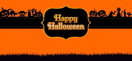 happy halloween header banner background, Halloween, Scary, Spooky Background image