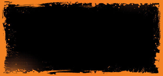 horizontal vector halloween banner background with grunge border, Banner, Border, Halloween Background image