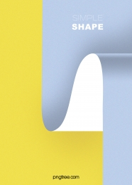 minimalistic curve business background , Curve, Blue, Yellow Background image