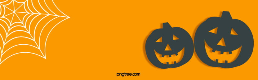 minimalistic halloween pumpkin background, Halloween, Pumpkin, Spider Web Background image